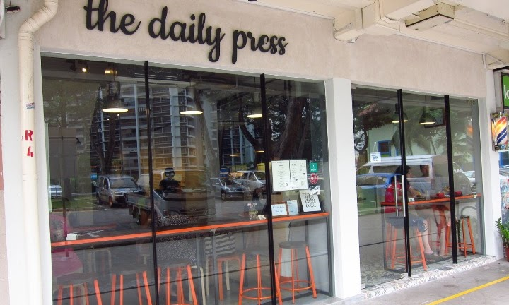 The Daily Press Cafe: Toa Payoh's Hipster Joint