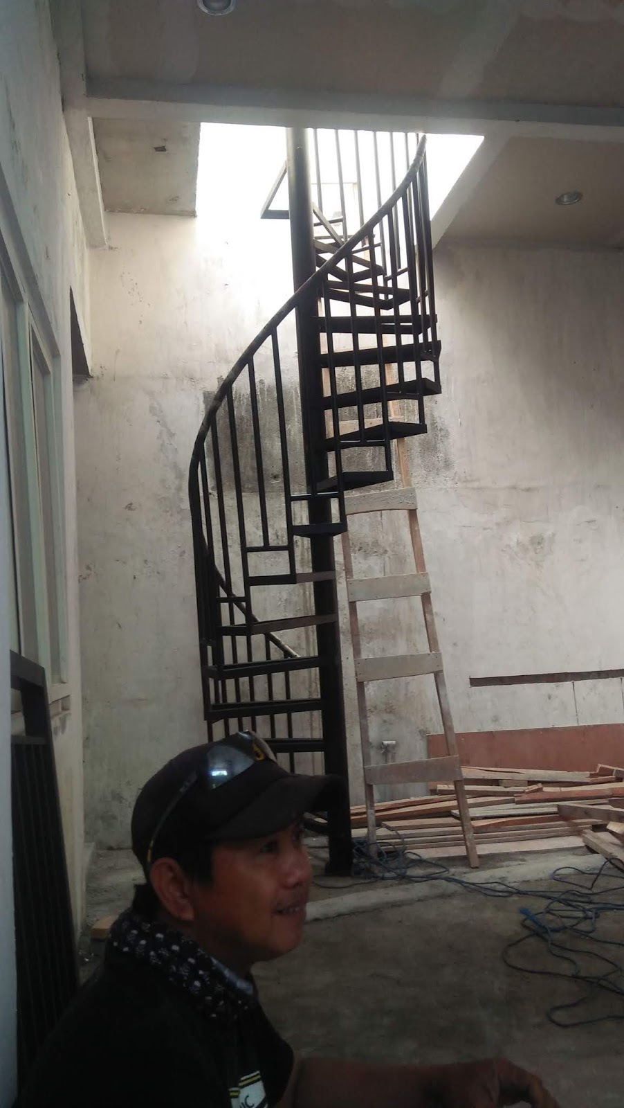 Bengkel Las Surabaya Rizqy Lumintu Tangga Putar Murah Gresik