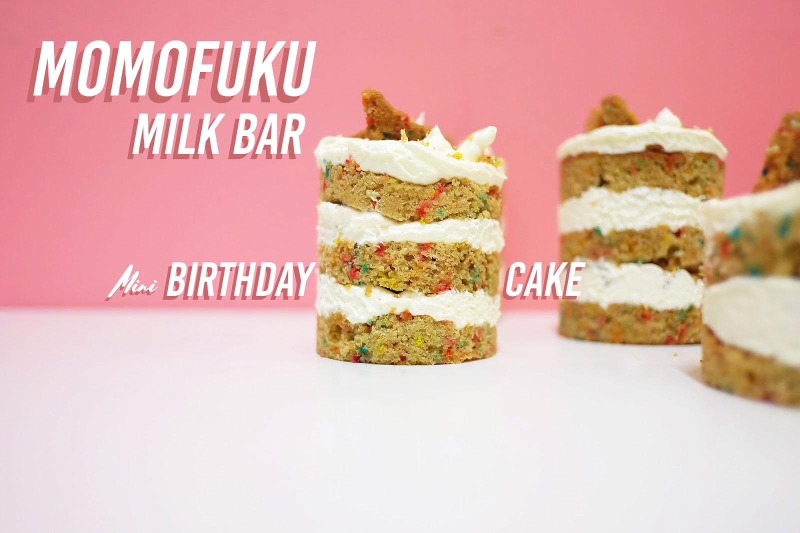 Momofuku Milk Bar Birthday Cake Apron and Cream
