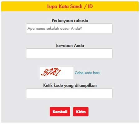 Cara Solusi Lupa Password myCare Indosat Ooredoo