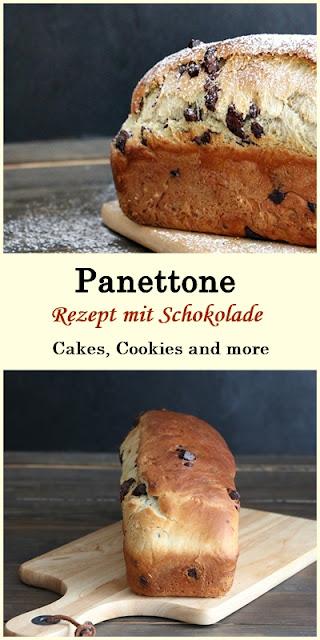 Rezept für overnight Panettone mit Schokolade