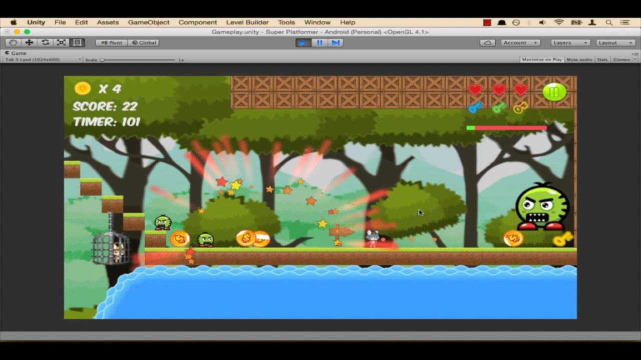 Unity & C# - Build A Complete 2D Mobile Platformer Game free