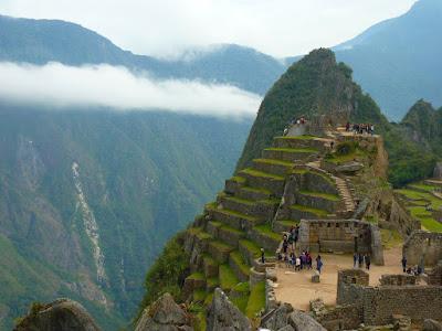 Ruins of Machu Picchu, Perú.