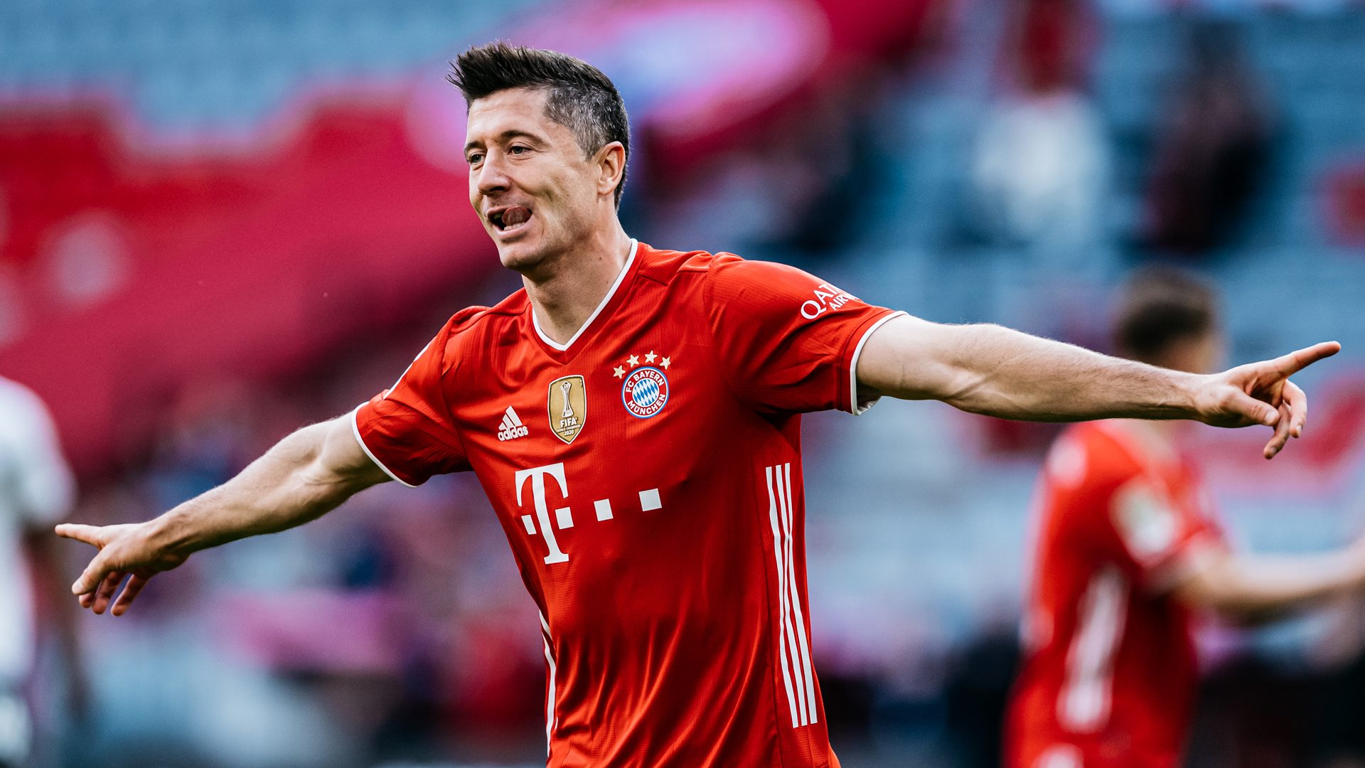 One more goal this season will see Robert Lewandowski break Gerd Muller's record