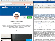 Mac tips for educators: How to activate dual monitor and display two windows side by side on the same screen