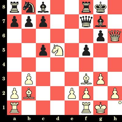 Les Blancs jouent et matent en 4 coups - Oliver Reeh vs Laszlo Barczay, Kecskemét, 1990