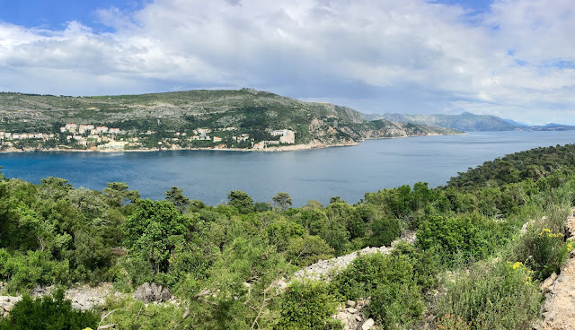 View from Fort Royal on Lokrum Island, Dubrovnik, Croatia