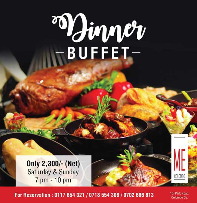Signature Dinner Buffet @ ME Colombo