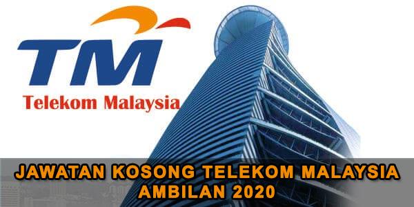 Berita Baik! Jawatan Kosong Di Telekom Ambilan Julai 2020 Kini Dibuka