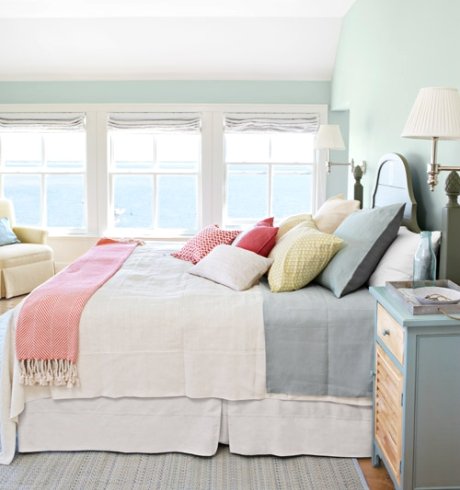 Coastal Summer Design Bedroom Decor