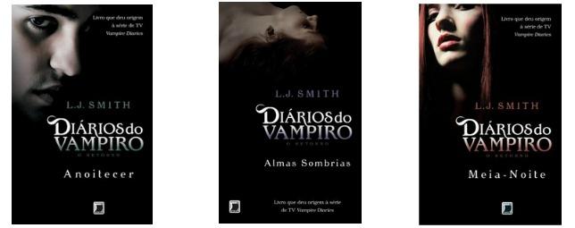 livros da série the vampire diaries