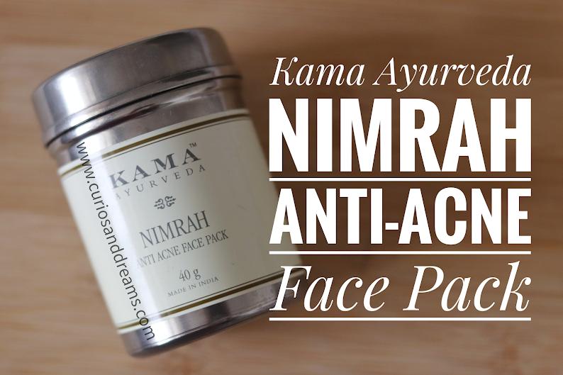 Kama Ayurveda Nimrah Anti Acne Face Pack, Kama Ayurveda Nimrah Anti Acne Face Pack review, Kama Ayurveda Nimrah review, Kama Ayurveda Nimrah face pack review