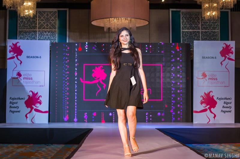 "Jaipur Auditions of ""Elite Miss Rajasthan 2018""."