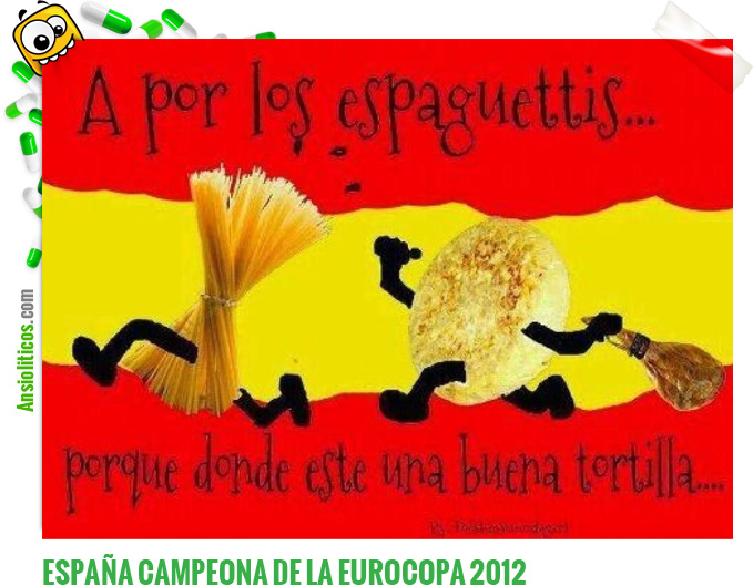 Chiste de Eurocopa: Final Españoles contra Italianos