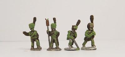 Guard Horse artillery crews