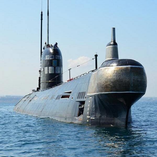 підводний човен Військово-Морських Сил ЗС України U01 Запоріжжя проекту 641