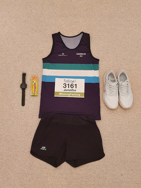 Race kit for half marathon