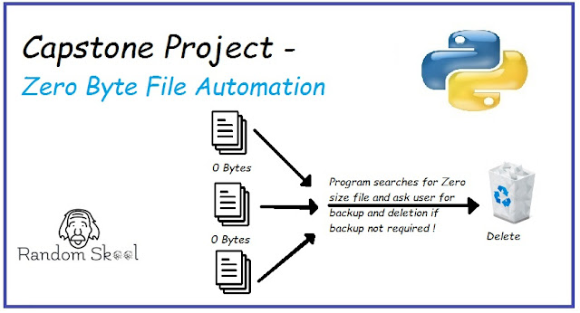 Python Programming 101 - Capstone Project | Zero Byte File Automation