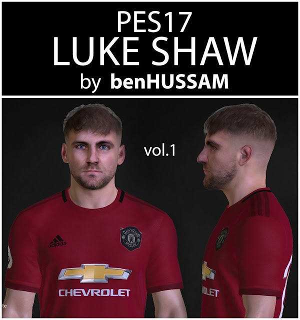 PES 2017 Shaw Face by benHUSSAM Facemaker