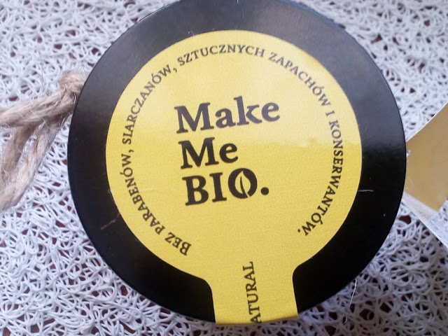 Lekki krem nawilżający SPF 25 / Make Me Bio