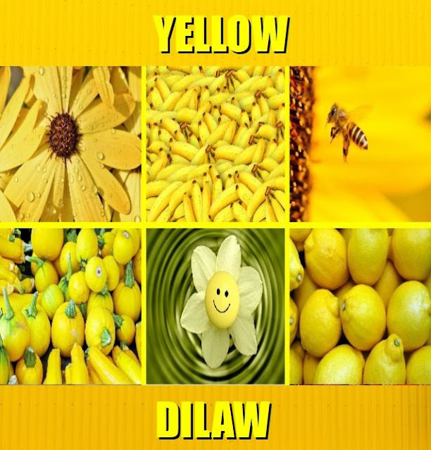 Yellow in Tagalog