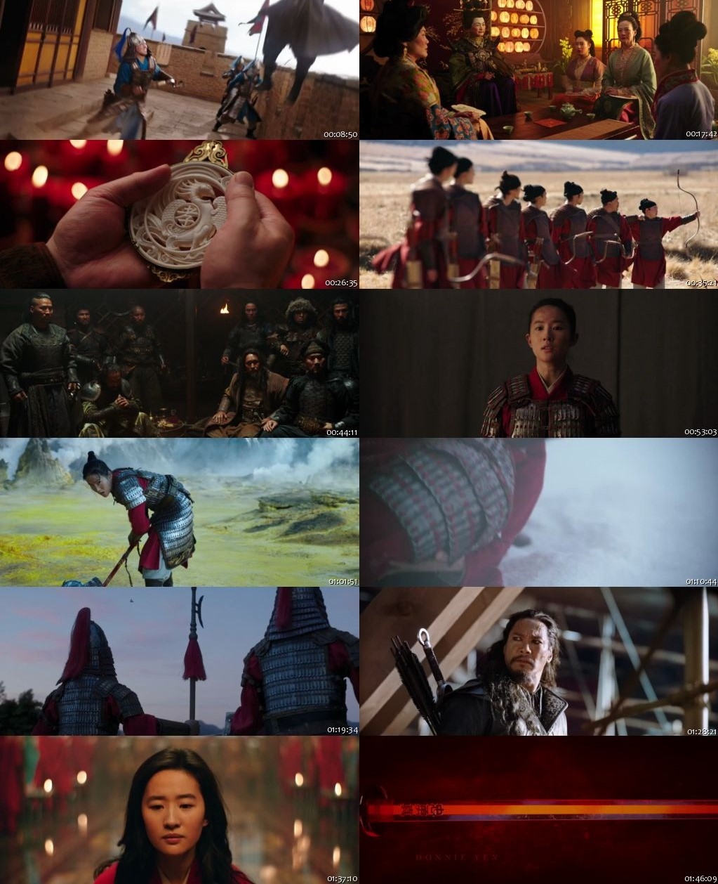 Mulan 2020 BRRip 720p [Hindi-English]