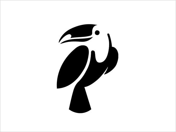 Contoh Desain Logo Negative Space - 37