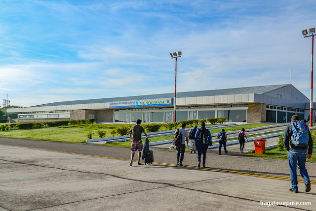 Aeroporto Mundo Maia, em Flores, Guatemala