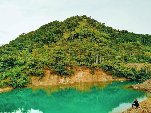 Danau Hijau Tanggamus lampung