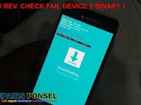 Cara Atasi sw rev. check fail device 2 binary 1