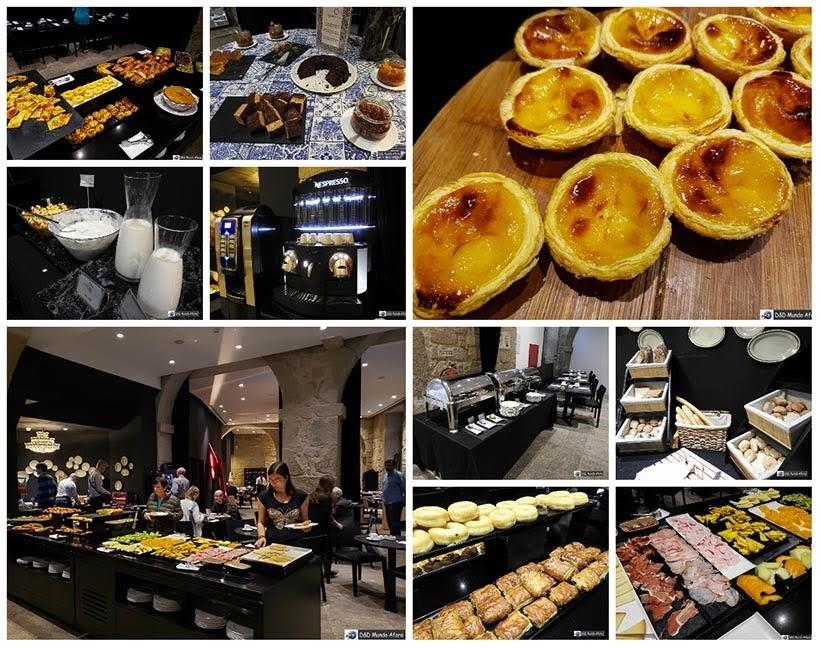 Opções no Café da manhã no Carris Porto Ribeira: onde ficar no Porto