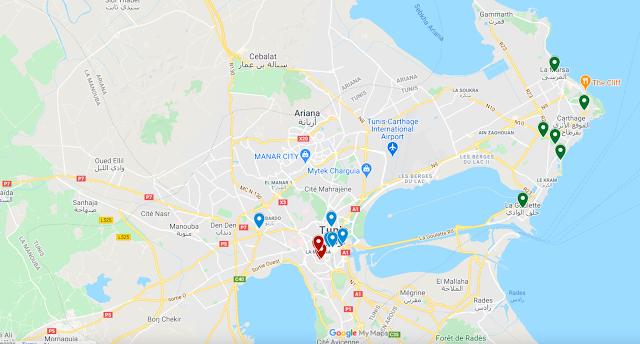 أشياء للقيام بها في تونس العاصمة في 3 أيام