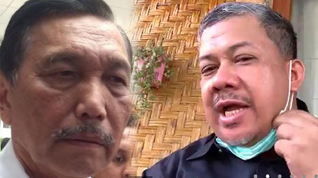Fahri Nasehati Luhut: Kata Pak Jokowi Bangsa Kita Bermental Baja, Jangan Gampang Tersinggung
