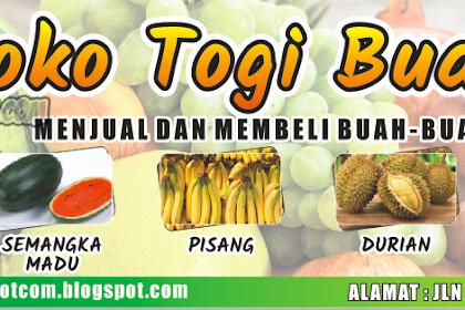 Cool Contoh Spanduk Toko Buah