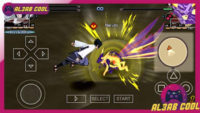 تحميل لعبة القتال Naruto Shippuden Ultimate Ninja Storm 1 psp بصيغة iso مضغوطة بحجم صغير من الميديا فاير