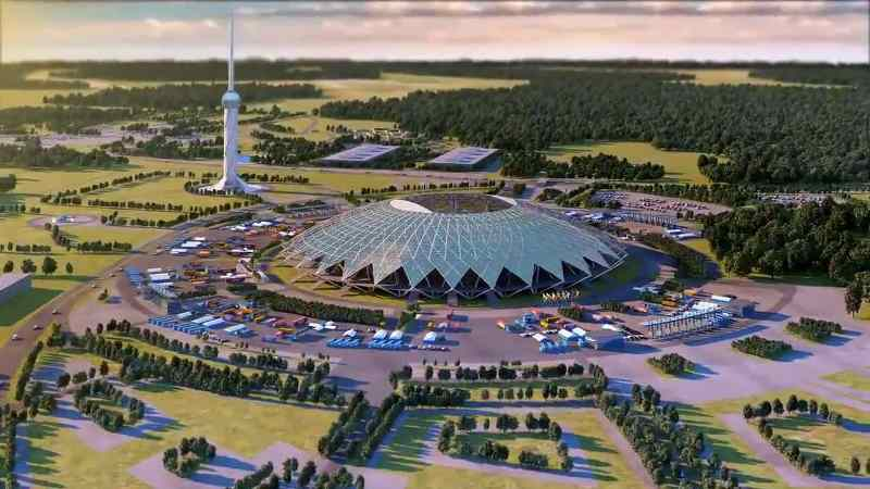 Cosmos Arena, Samara, Rusia | Piala Dunia FIFA 2018