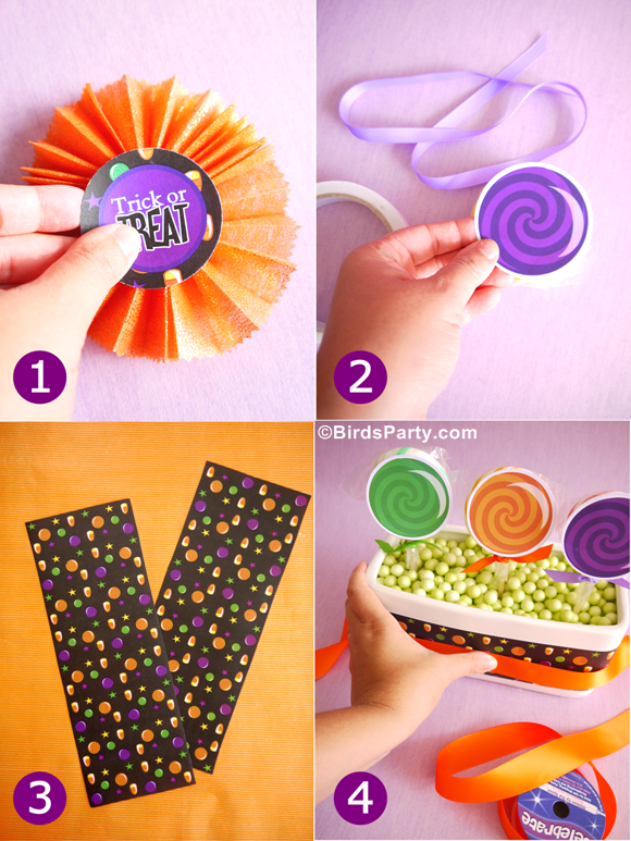 Diy Halloween Candy Amp Lollipop Party Centerpiece Party