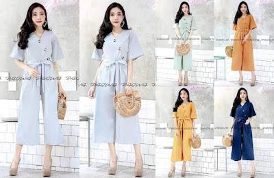 วันนี้ร้าน Dresses Fashion จะชวนไปส่องจั๊มสูทแบบชิคๆ มีให้เลือกมากมายหลายแบบ ที่มีราคาถูกแสนถูก ขายทั้งปลีกและส่ง ทางร้านนำเข้าและจัดจำหน่ายจั๊มสูทแฟชั่น ครบทุกประเภทสินค้า ตามความต้องการ ทันสมัยตามกระแสนิยมปัจจุบัน รายละเอียดดีเทลสินค้าและรูปภาพมีครบถ้วน ขายส่งราคาถูก ขายส่งเสื้อผ้าประตูน้ำ สินค้าทุกชิ้นพร้อมส่ง จัดส่งทุกวัน รับสมัครตัวแทนจำหน่ายทั่วประเทศ เปิดทุกวัน 08.00-19.00 น. โทร.095-6754981 ติดตามแฟชั่นอัพเดททุกวัน Line id:@dresses