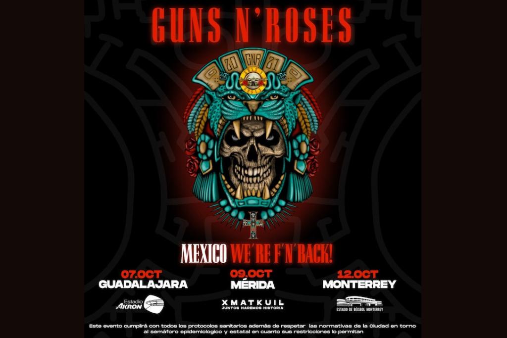 Guns N Roses en México