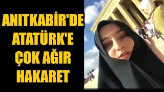 Anıtkabir'de Atatürk'e hakarete soruşturma