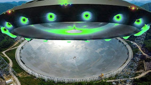 أكبر تلسكوب في العالم أنشئ لغرض التواصل مع كائنات أذكى من البشر