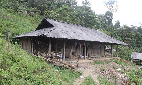Ngôi nhà trên Bản Mã Hoàng Phìn