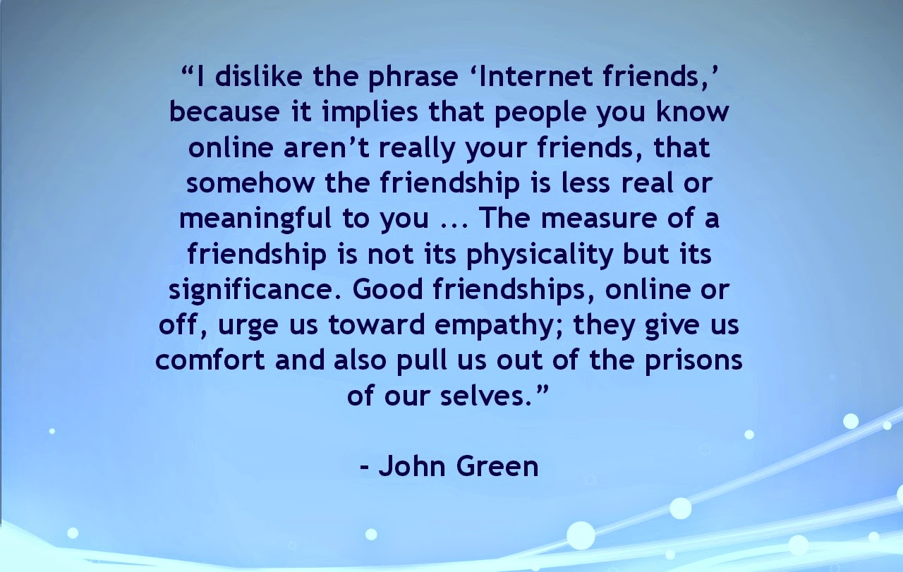 Online Friends - Quotes Central |Online Friends Quotes