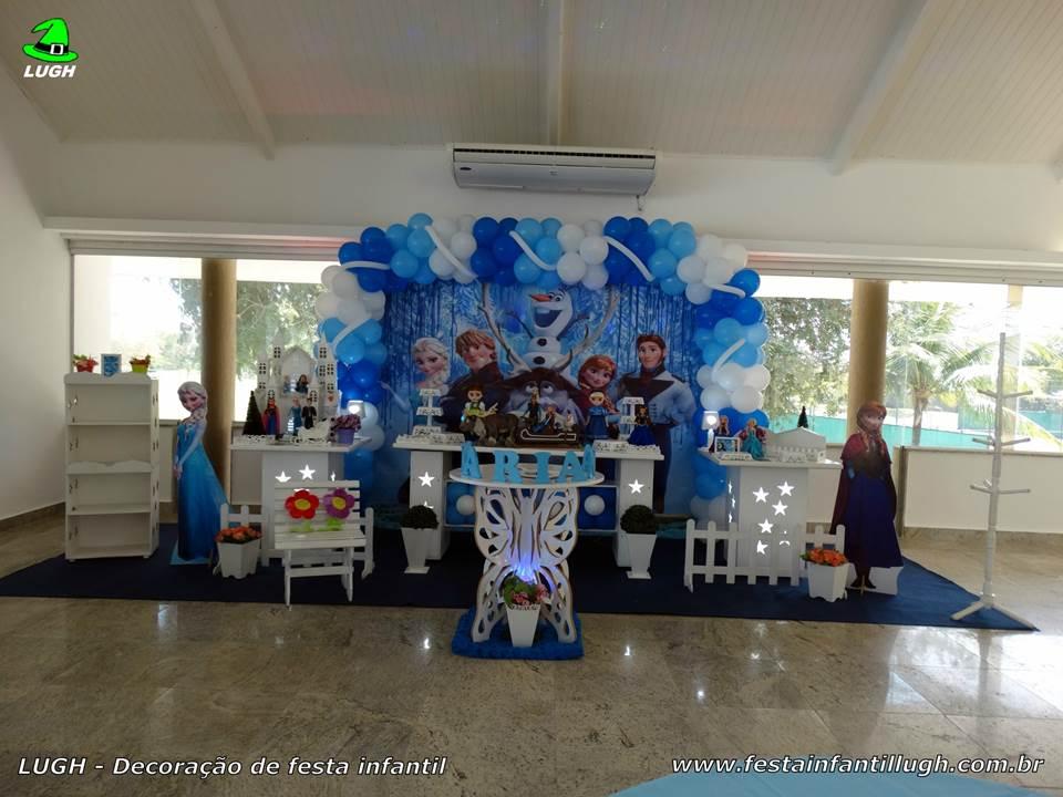 Decoração Frozen para festa de aniversário infantil - Barra da Tijuca - RJ