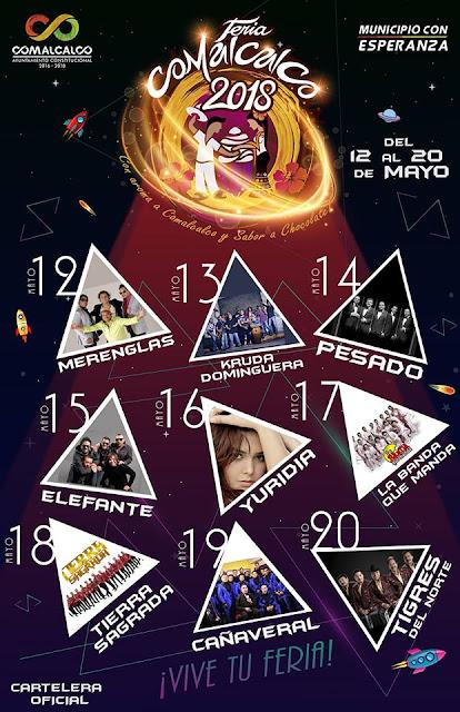 programa Feria Comalcalco 2018