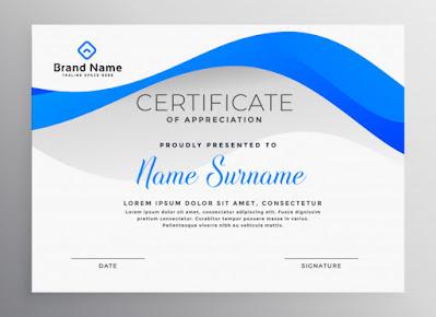 template-sertifikat-simple