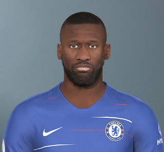 PES 2019 Faces Antonio Rüdiger by Jarray & The White Demon