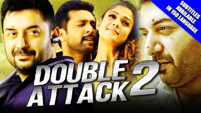Double Attack 2 (Thani Oruvan) Hindi Dubbed Movie Full HDRip