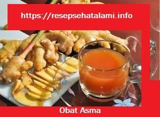 5 Resep Obat Asma Bahan herbal sehat Alami
