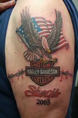 Harley Night Train >> Harley Davidson Motorcycle: Harley Davidson Tattoo Designs